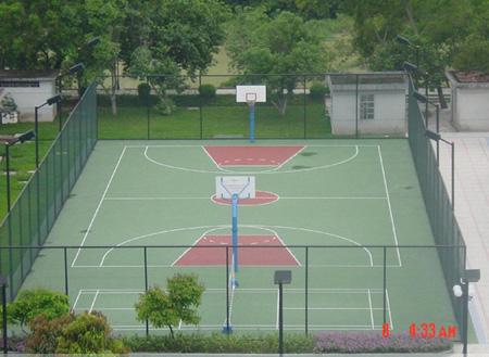 篮球场,网球场,足球场. 2,标准型:围网                 内径ф2.